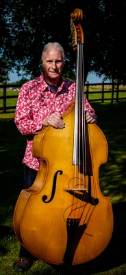 The Man and his Bass: Roger Davis, FiddleBop's original double bass player