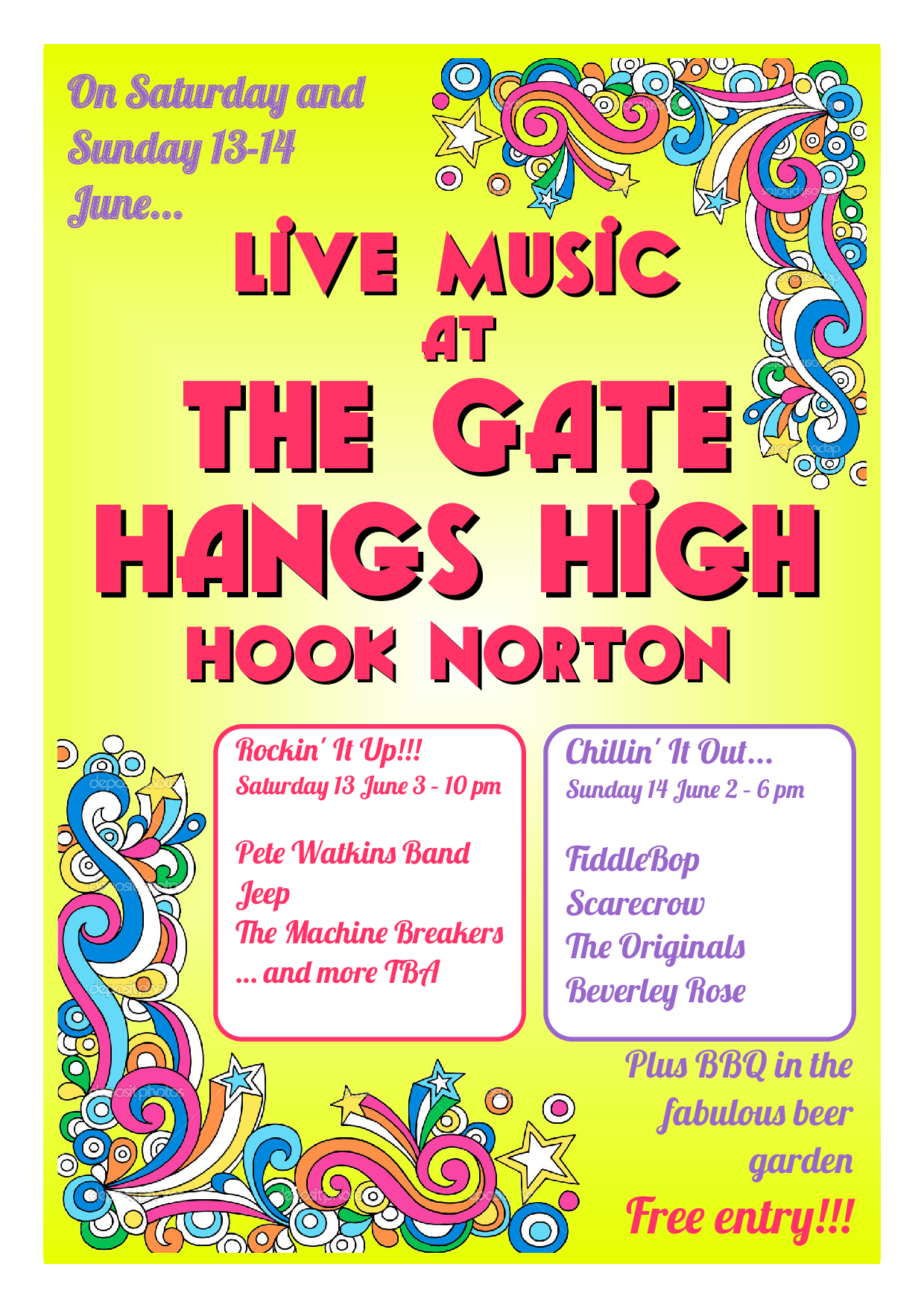 Live Music at The Gate Hangs High