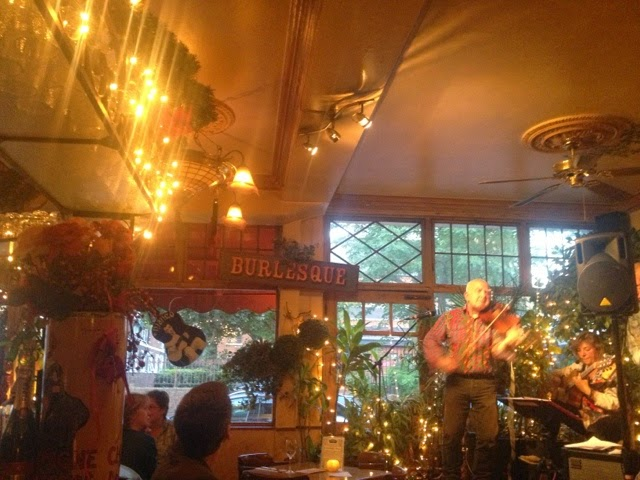 Another pic of FiddleBop at Le QuecumBar in August 2014, by Lexie Carducci