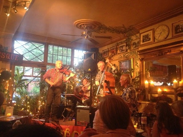 FiddleBop at Le QuecumBar in August 2014, by Lexie Carducci