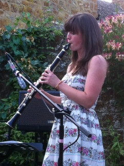 Charlie Fothergill, our guest clarinet player