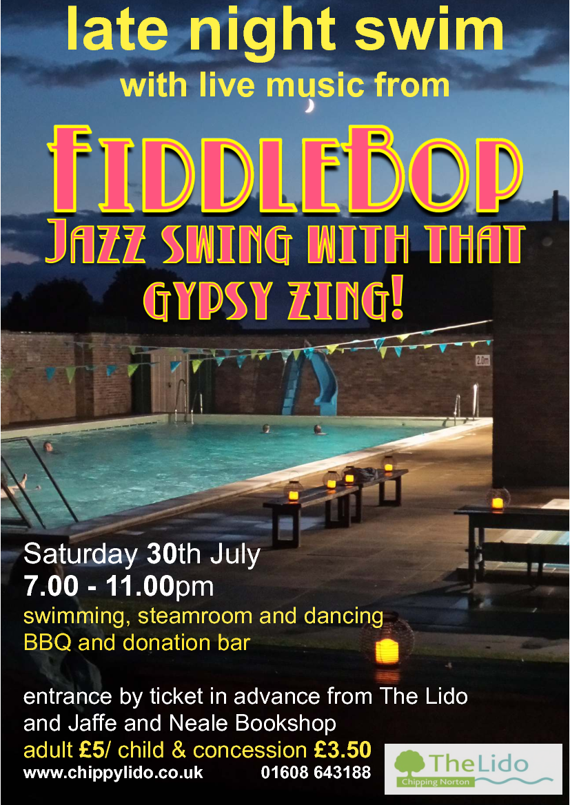 FiddleBop at Chippy Lido