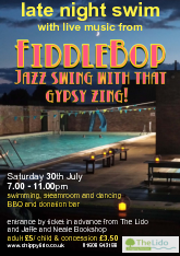 FiddleBop at Chippy Lido, 30 July 2016