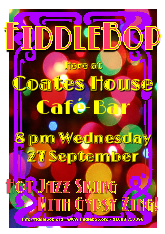 FiddleBop at Coates House, 27 September 2017