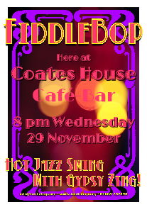 FiddleBop at Coates House, 29 November 2017