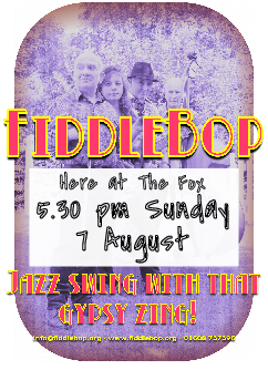 FiddleBop at The Fox Inn, 7 August 2016