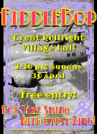 FiddleBop at Great Rollright Village Hall, 30 April 2017