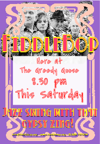 FiddleBop at The Greedy Goose, 24 September 2016