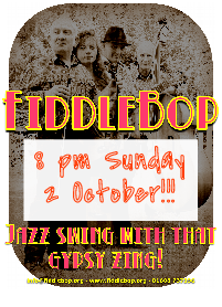 FiddleBop at Le Quecumbar, 2 October 2016