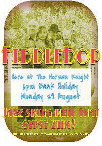 FiddleBop at The Norman Knight, 29 August 2016