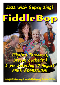 Pilgrims Tearooms, Brecon Cathedral, 10 August 2019