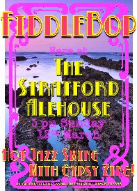 FiddleBop at The Stratford Alehouse, 12 March 2017