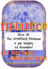 FiddleBop at The Stratford Alehouse, 20 November 2016