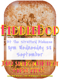 FiddleBop at The Stratford Alehouse, 28 September 2016