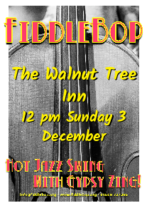 FiddleBop at The Walnut Tree Inn, Blisworth, 3 December 2017