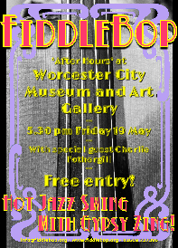 FiddleBop at Worcester City Art Gallery and Museum, 19 May 2017