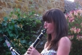 Charlie Fothergill, guest clarinet player for FiddleBop