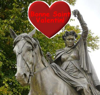 See a fine lady on a white horse... La St-Valentin en Banbury!